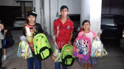 Regreso a clases | Inpanic I.A.P. entrega útiles escolares a 140 niños