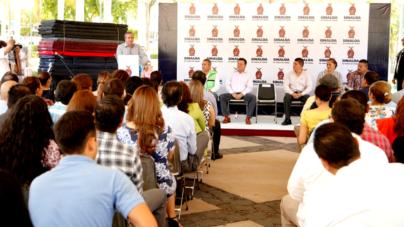Aterrizan apoyos del Fonden a municipios afectados por las lluvias en Sinaloa