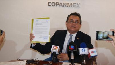 Coparmex exige al Congreso no congelar iniciativa contra la corrupción