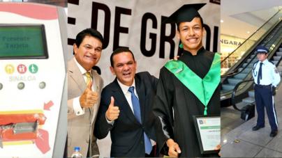 Lo más leído | Fluyen adeudos de becas, inicia entrega de tarjeta inteligente y Sinaloa, desafío para la inversión