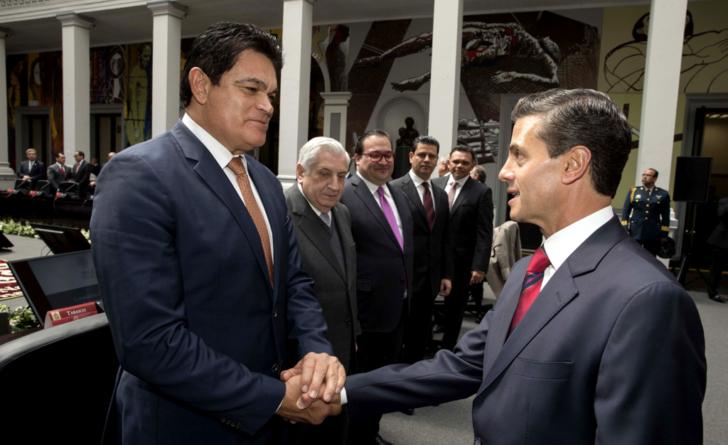 Viene Peña Nieto a inaugurar Hospital Militar; 'su tesis no afecta al gobernar': Malova