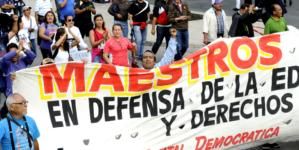 Anuncia la CNTE marcha en Culiacán contra la privatización de la educación