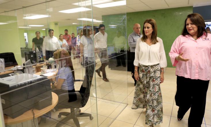 Rosy Fuentes de Ordaz sostiene primer encuentro con autoridades del DIF Sinaloa