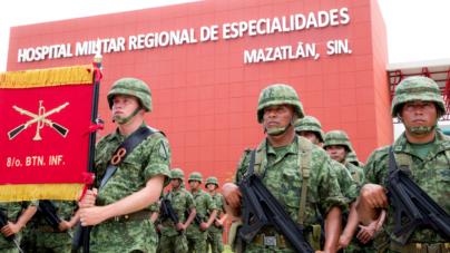 Asumen soldados de mar, tierra y aire compromiso de contribuir al progreso de México