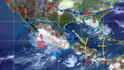 El ciclón 'Javier' mantendrá lluvias de intensas a torrenciales en Sinaloa
