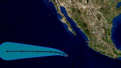 Tormenta 'Lester' amenaza con fuertes lluvias a Sinaloa