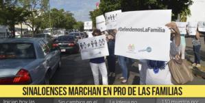 Al día en 3 minutos |Sinaloenses marchan en pro de las familias