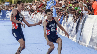 El inesperado final de los hermanos Brownlee en triatlón