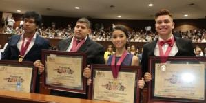 'México está urgido de los mejores jóvenes'   Entrega Congreso premios al Mérito Juvenil