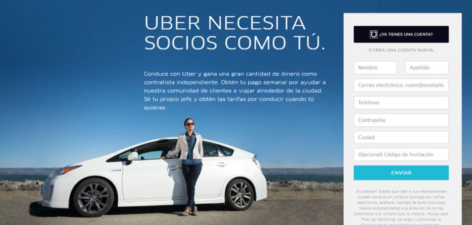 Uber 'tienta' a los 'culichis' con campaña vía mensajes de texto y redes sociales