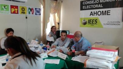 Avanza reconteo de votos en Ahome | el PAN demanda reponer la elección