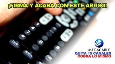 #3CosasQue… reclaman usuarios a Megacable vía Change.org