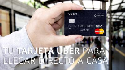 Uber se lanza en serio y ofrece tarjeta bancaria MasterCard