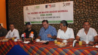 MLB realizará visoreos en el norte de Sinaloa