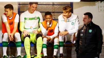 Celtic de Escocia debutó a pequeño de 13 años