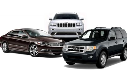 Alerta Profeco por posibles fallas en vehículos Ford, Volkswagen y Jeep