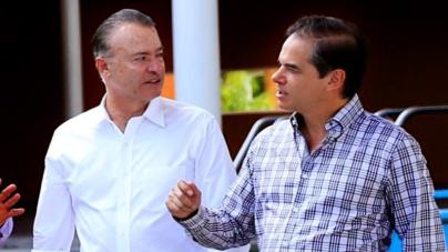 Quirino encomienda a Carlos Ortega la entrega-recepción del Gobierno estatal