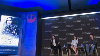 #FOTOGALERÍA | Inicia promoción 'Star Wars: Rogue One' en México