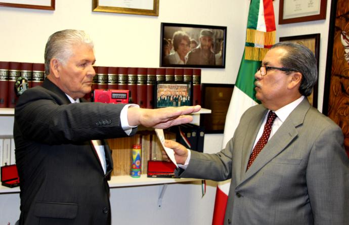 'Vienen tiempos difíciles, complicados': Gandarilla, nuevo delegado de Segob