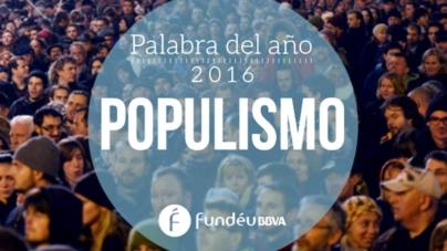 Populismo es la palabra del año 2016