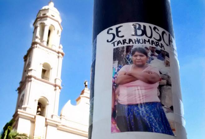 María, mujer tarahumara desaparecida dos meses, aparece en el monte