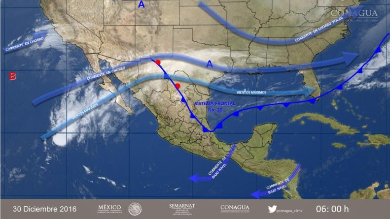 ¡Alista el paraguas! | Recibirá Sinaloa el 2017 con pronóstico de lluvias