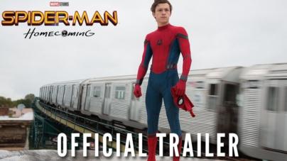 """¡Sorprendente! Primer tráiler oficial de """"Spider-Man: Homecoming"""""""