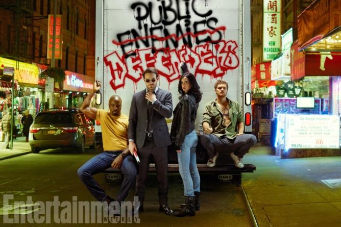 Las series que vienen   Conoce a los personajes de The Defenders