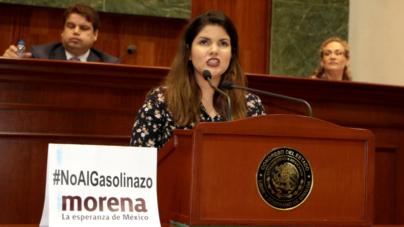 Se desborda debate del gasolinazo en el Congreso de Sinaloa