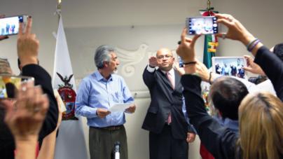 Papik Ramírez Bernal rinde protesta como nuevo director de ISIC