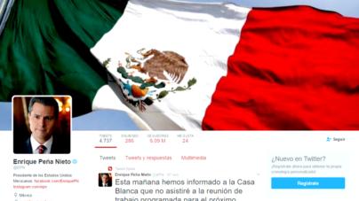 Atiende Peña Nieto llamado de mexicanos y cancela encuentro con Trump