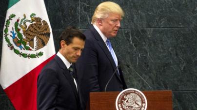 """""""Con el gobierno de Trump, ni confrontación ni sumisión"""": EPN"""
