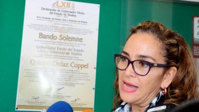 La transparencia debe ser referente en el ejercicio del gobierno: Irma Tirado