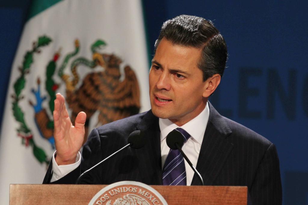31107023.- México, DF.- El presidente Enrique Peña Nieto encabezó la inauguración del México Summit 2013 :