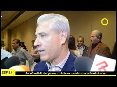 Espejo Noticias   Semáforo Delictivo presenta el informe anual de resultados de Sinaloa