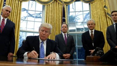 Inicia la era Trump | Retira a Estados Unidos del TPP