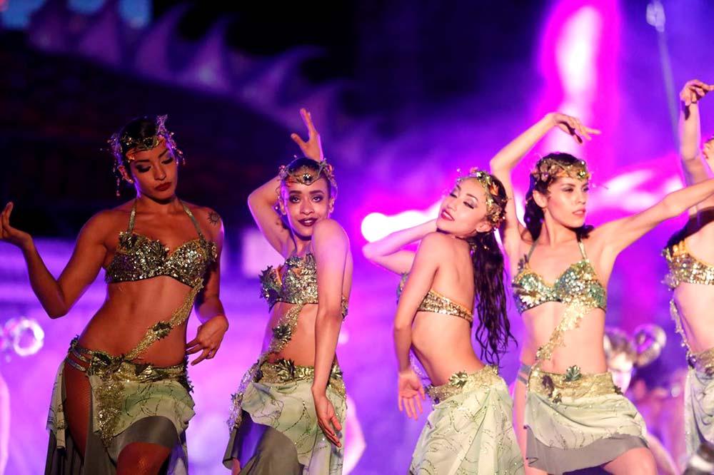 Juventud y talento se hizo presente sobre el escenario.