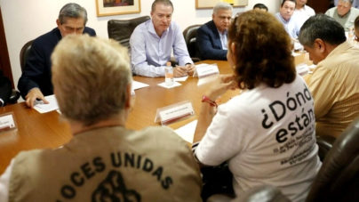 Ofrece Quirino dar prioridad a la búsqueda de desaparecidos en Sinaloa