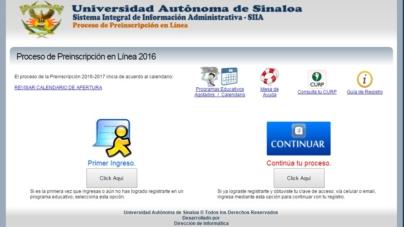 Rector confirma hackeo a página de preinscripciones de la UAS