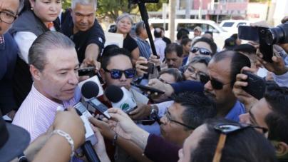 Si alguien desvió dinero público, se aplicará la ley 'caiga quien caiga': Quirino