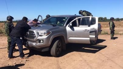 Detienen militares a dos involucrados en hechos violentos de Villa Juárez
