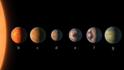 NASA descubre un sistema solar con siete planetas similares a la Tierra