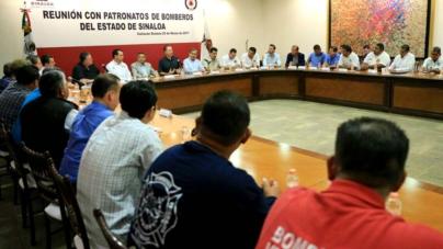 'Habrá un Cuerpo de Bomberos fuerte y consolidado al terminar el sexenio': Quirino Ordaz