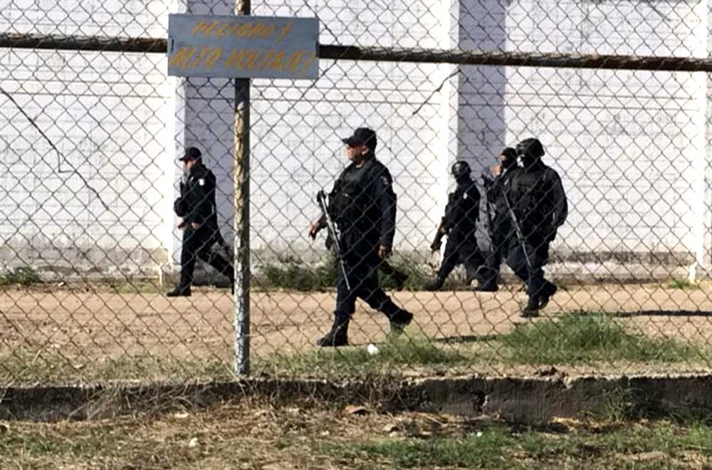 CULIACÁN, SINALOA, 16MARZO2017.- Se fugaron varios reos del penal de Aguaruto, entre los que estaría Juan José Esparragoza Monzón