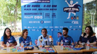 Corre, conviértete en superhéroe y apoya a niños con autismo de Culiacán