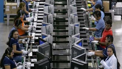 Actividad industrial bajó 1.1% en octubre: Inegi