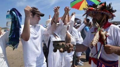 FOTOGALERÍA | Con danza, folclor y rituales yoremes reciben a la primavera en Las Labradas