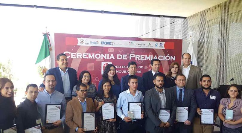 Red Estatal de Incubadoras reconoce los mejores proyectos de negocios