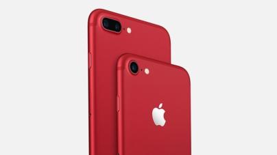 Apple se une a la lucha contra el VIH y lanza nuevos iPhone 7 (plus) rojos edición especial