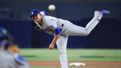 Luce picheo de Julio Urías, y aunque sale sin decisión, Dodgers vence a Gigantes 5-1 en su debut